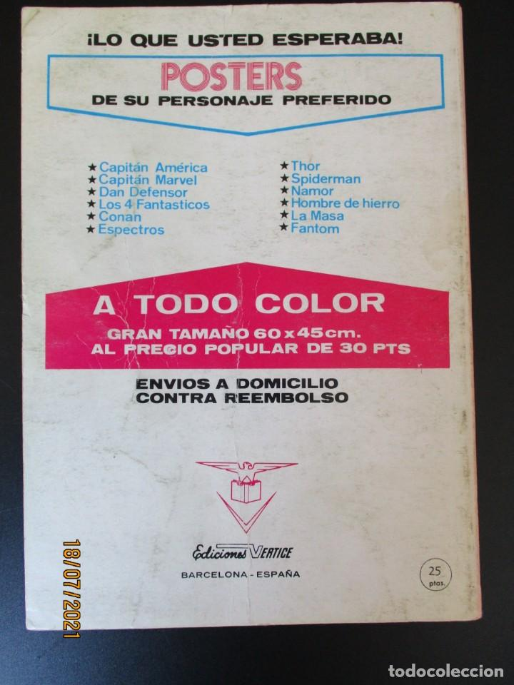 Cómics: CONAN (1972, VERTICE) 4 · XII-1972 · LOS ANILLOS DEL HOMBRE SERPIENTE - Foto 3 - 276402618