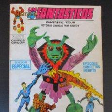 Cómics: 4 FANTASTICOS, LOS (1969, VERTICE) -V.1- 12 · III-1970 · PLAN SINIESTRO. Lote 276403423