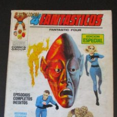 Cómics: 4 FANTASTICOS, LOS (1969, VERTICE) -V.1- 6 · IX-1969 · EL HOMBRE IMPOSIBLE. Lote 276404708