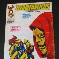 Cómics: 4 FANTASTICOS, LOS (1969, VERTICE) -V.1- 9 · XII-1969 · EL DOCTOR MUERTE, ATACA. Lote 276404983
