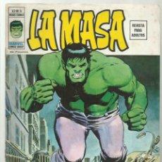 Cómics: LA MASA VOL. 2 6, 1975, VERTICE, BUEN ESTADO. Lote 276467303