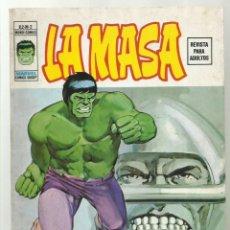 Cómics: LA MASA VOL. 2 2, 1974, VERTICE, BUEN ESTADO. Lote 276468218