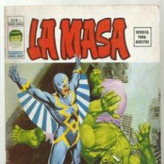 Cómics: LA MASA VOL. 2 1, 1974, VERTICE, BUEN ESTADO. Lote 276468548