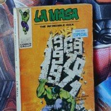 Cómics: LA MASA 16 TACO NORMAL ESTADO EDICIONES VERTICE. Lote 276669338