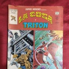Cómics: SUPER HEROES. VOL 1. Nº 130. LA COSA Y TRITON . VERTICE.. Lote 276717273
