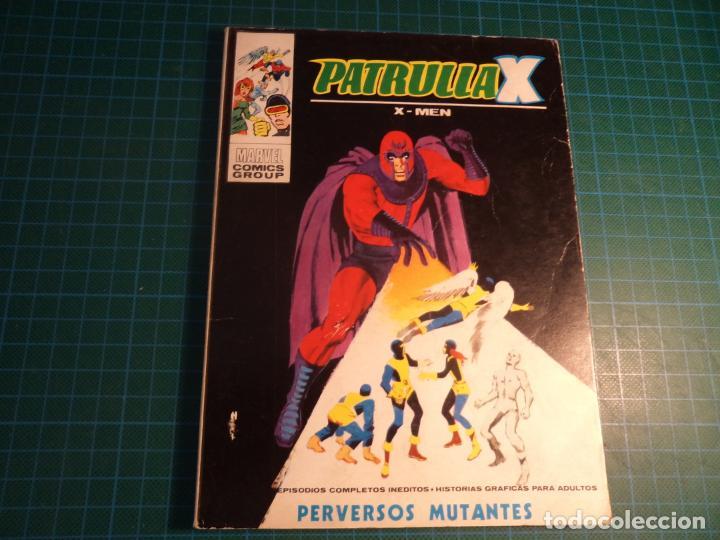 PATRULLA X. N°2. VERTICE. ESTA COMPLETO, PERO TIENE HOJAS SUELTAS. (Tebeos y Comics - Vértice - V.1)