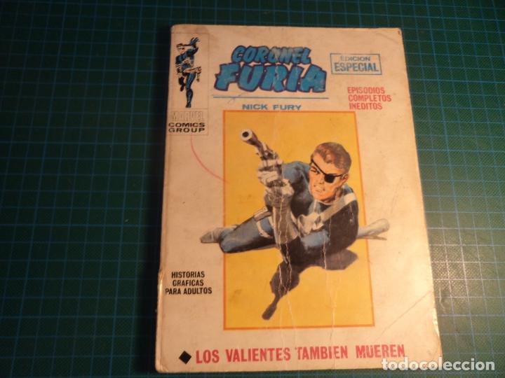 CORONEL FURIA. N°10. VERTICE. ESTA COMPLETO PERO CASTIGADO. (Tebeos y Comics - Vértice - V.1)