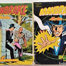 Cómics: LOTE 2 COMICS VÉRTICE MANDRAKE MERLÍN EL MAGO Nº 1 Y 4. Lote 276927743