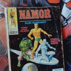 Cómics: NAMOR 16 TACO NORMAL ESTADO CON USO MARVEL EDICIONES VERTICE. Lote 277026983