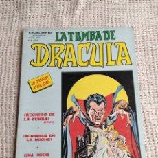 Cómics: ESCALOFRIO, LA TUMBA DE DRACULA VOL 2 - Nº 7 ( VERTICE COLOR ). Lote 55122404
