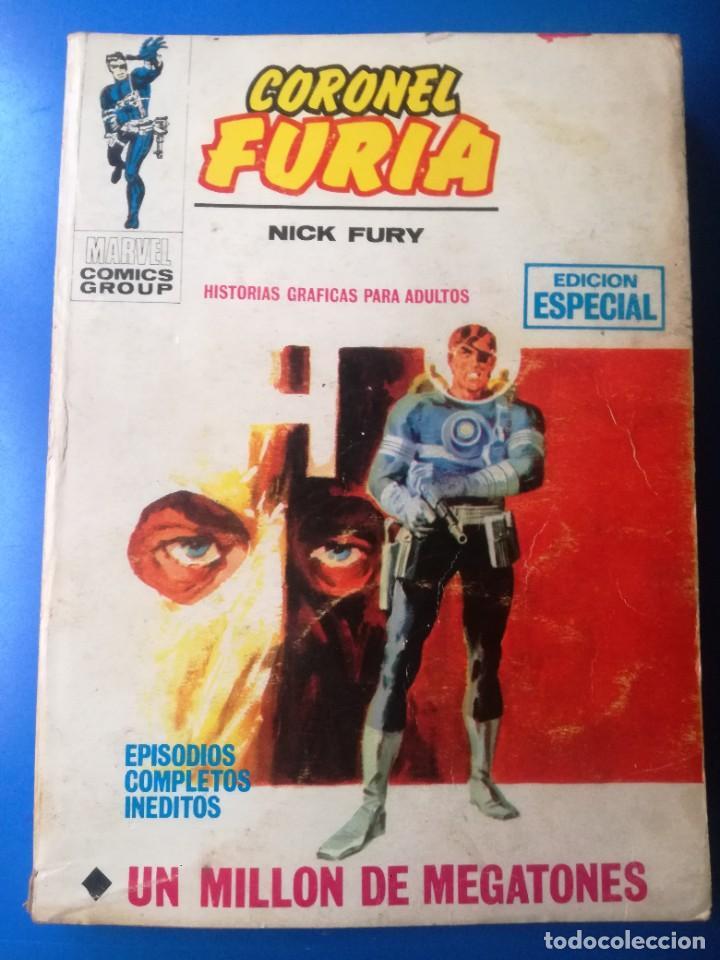 CORONEL FURIA. (Tebeos y Comics - Vértice - Furia)