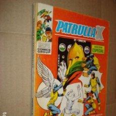 Cómics: PATRULLA X 9, 1974, VERTICE, MUY BUEN ESTADO. Lote 277081443