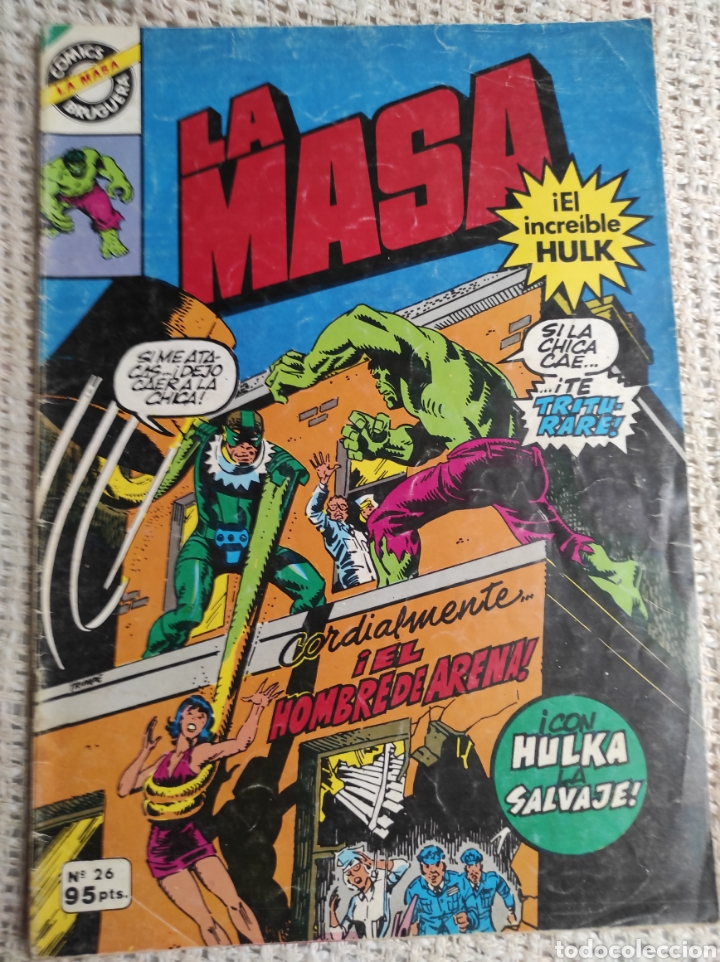 MASA Nº 13 - EDITA : BRUGUERA AÑOS 80 (Tebeos y Comics - Vértice - La Masa)