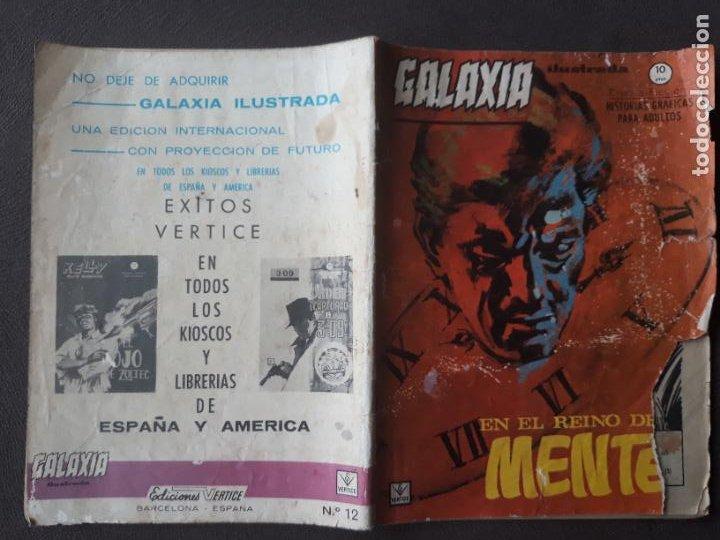 GALAXIA VERTICE GRAPA AÑO 1966 Nº 12 EN EL REINO DE LA MENTE (Tebeos y Comics - Vértice - Otros)