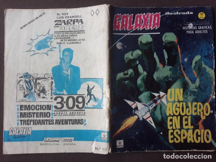 GALAXIA VERTICE GRAPA AÑO 1966 Nº 13 UN AGUJERO EN EL ESPACIO (Tebeos y Comics - Vértice - Otros)
