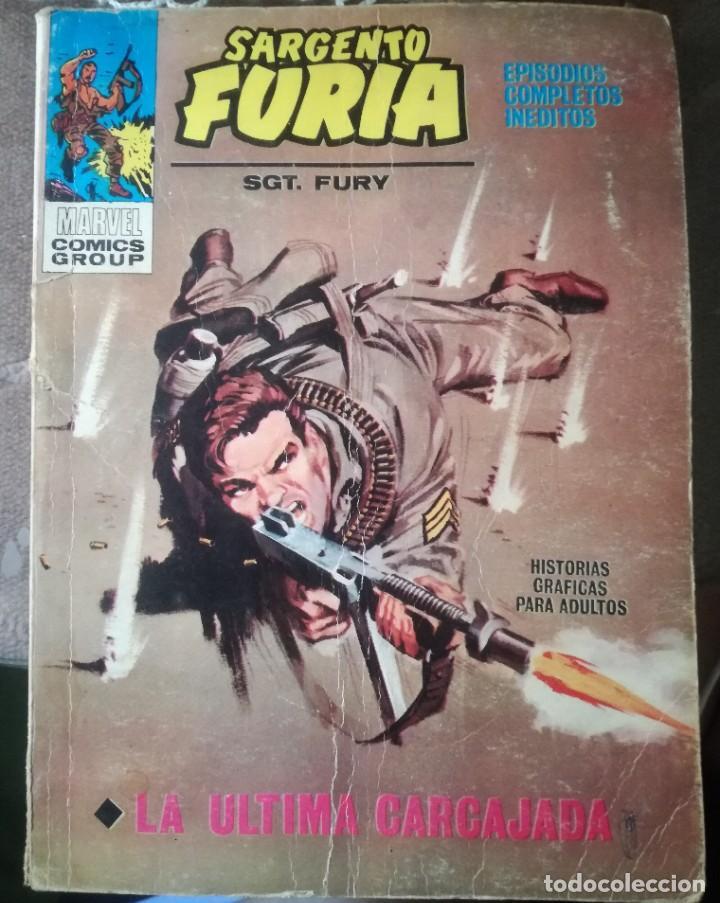 SARGENTO FURIA. (Tebeos y Comics - Vértice - Furia)
