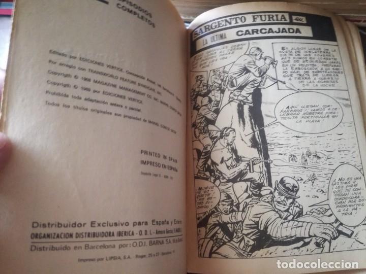 Cómics: SARGENTO FURIA. - Foto 2 - 277176743
