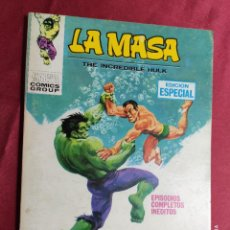 Comics: LA MASA. VOL 1. Nº 8. A MUERTE LOS INHUMANOS. VERTICE. TACO. Lote 277198268