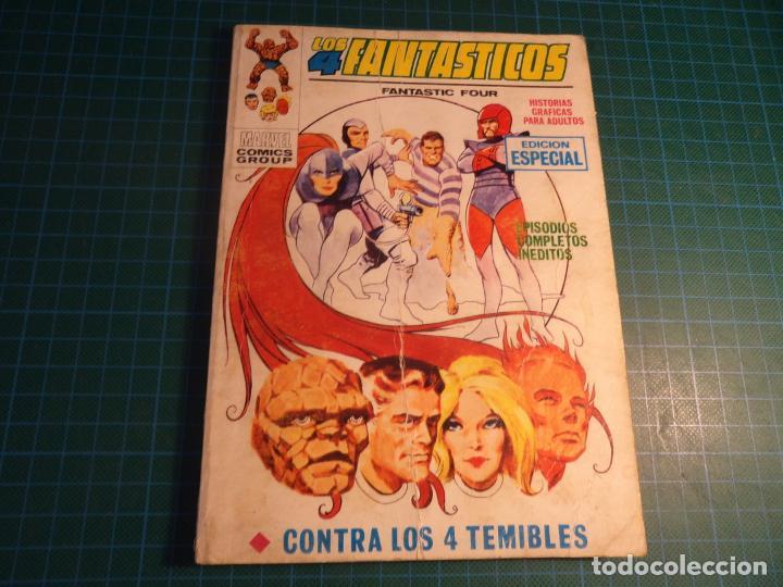 LOS 4 FANTASTICOS. N°18. VERTICE. ESTA COMPLETO PERO CASTIGADO. (Tebeos y Comics - Vértice - V.1)