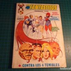 Fumetti: LOS 4 FANTASTICOS. N°18. VERTICE. ESTA COMPLETO PERO CASTIGADO.. Lote 277251848