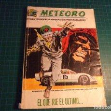 Cómics: METEORO. N°5. VERTICE. ESTA COMPLETO PERO CASTIGADO.. Lote 277252068