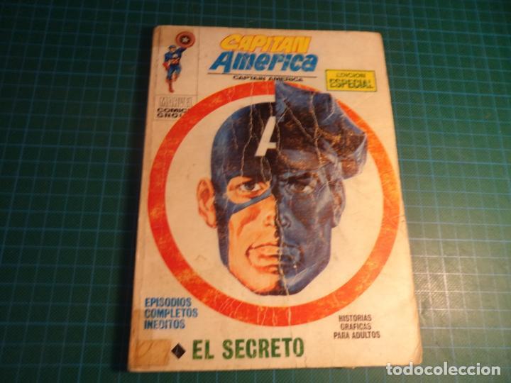 CAPITAN AMERICA. N°19. VERTICE. ESTA COMPLETO PERO CASTIGADO. (Tebeos y Comics - Vértice - V.1)