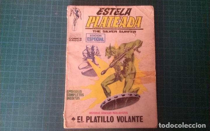 ESTELA PLATEADA. N°2.VERTICE. CASTIGADO. LE FALTA LA HOJA DE GALERIA DEL PERSONAJE. (Tebeos y Comics - Vértice - V.1)