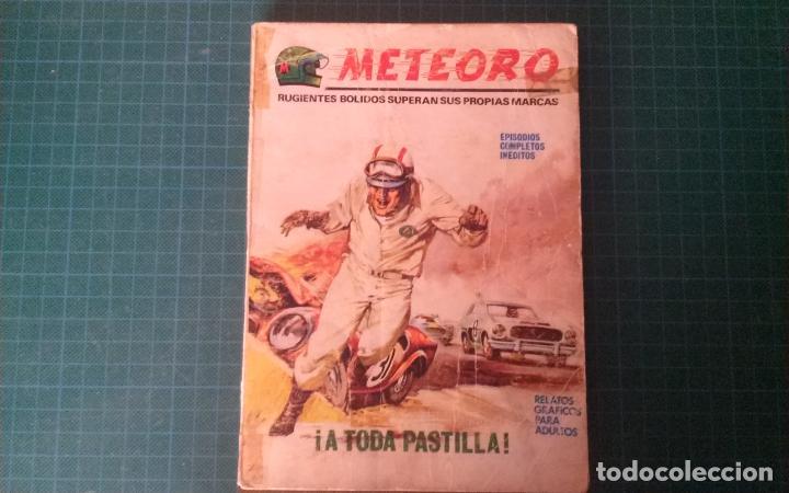 METEORO. N°2. VERTICE. CASTIGADO. LE FALTA LA HOJA DE GALERIA DEL PERSONAJE. (Tebeos y Comics - Vértice - V.1)