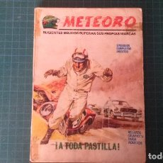 Fumetti: METEORO. N°2. VERTICE. CASTIGADO. LE FALTA LA HOJA DE GALERIA DEL PERSONAJE.. Lote 277255338