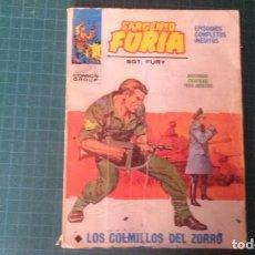 Fumetti: SARGENTO FURIA. N°3. VERTICE. CASTIGADO. LE FALTA LA HOJA DE GALERIA DEL PERSONAJE.. Lote 277255463