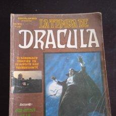 Cómics: LA TUMBA DE DRACULA Nº 2 - VERTICE 1979 - TAPAS BLANDAS - 60 PÁGINAS BLANCO Y NEGRO. Lote 277256298