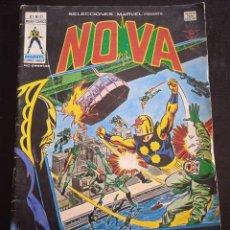 Cómics: SELECCIONES MARVEL 37 NOVA COMICS EDICIONES VERTICE NORMAL ESTADO MUNDI COMICS. Lote 277260688