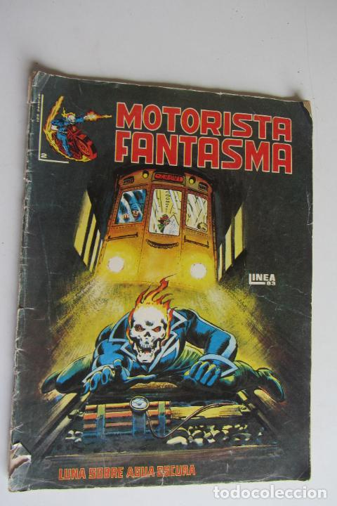 EL MOTORISTA FANTASMA Nº 2 LUNA SOBRE AGUA OSCURA . 1983 SURCO ARX82 (Tebeos y Comics - Vértice - Surco / Mundi-Comic)