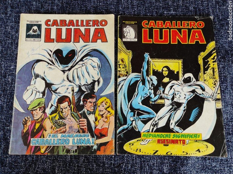 CABALLERO LUNA Nº 1 Y 2 -ED. VERTICE - MUNDICOMICS (Tebeos y Comics - Vértice - Grapa)