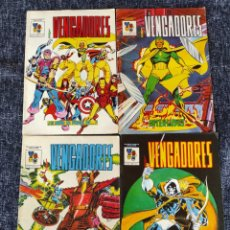 Cómics: LOS VENGADORES MUNDICOMICS Nº 1 AL 4 -ED. EDICIONES VERTICE. Lote 277514698