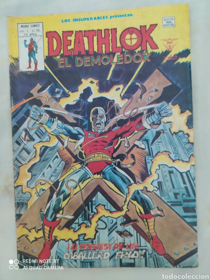 DEATHLIKE EL DEMOLEDOR--DE LOS PRIMEROS AÑOS QUE SALIÓ, DE EDICIONES VÉRTICE--AÑO 1979 -- (Tebeos y Comics - Vértice - Otros)