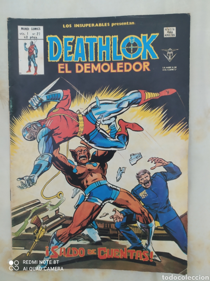 DEATHLIKE EL DEMOLEDOR-- EDICIONES VÉRTICE-AÑO 1979-EN EXCELENTE ESTADO DE CONSERVACIÓN-VOL 1 -N° 27 (Tebeos y Comics - Vértice - Otros)