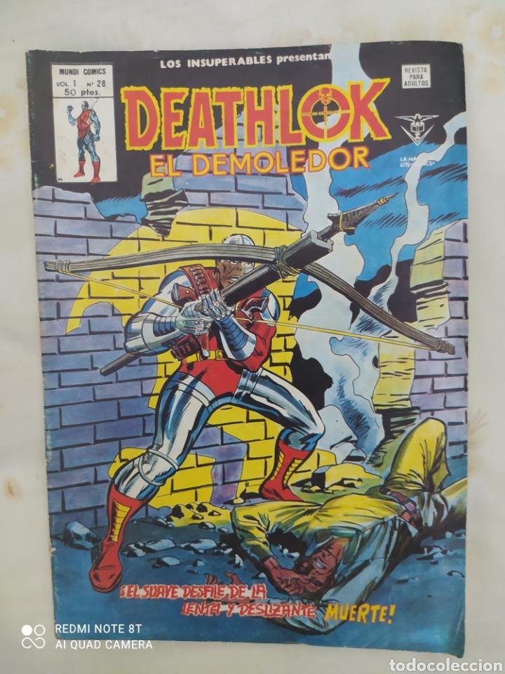 DEATHLIKE EL DEMOLEDOR--VOL 1- N° 28-- EDICIONES VÉRTICE-- AÑO 1979-- EN EXCELENTE ESTADO DE CONSERV (Tebeos y Comics - Vértice - Otros)