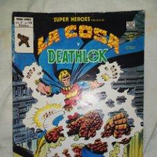 Cómics: DEATHLOK Y LA COSA--VERTICE AÑO 1979- COMIC IMPRESCINDIBLE EN UNA COLECCIÓN--VOL 2-- N°120--. Lote 277538103