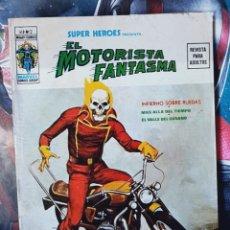 Cómics: SUPER HÉROES 2 VOL II EL MOTORISTA FANTASMA NORMAL ESTADO EDICIONES VERTICE. Lote 277575663