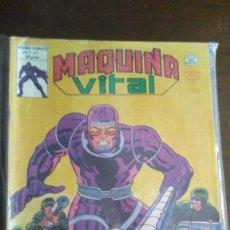 Cómics: MAQUINA VITAL - HOMBRE MAQUINA - COMPLETA 6 NºS. Lote 278171193