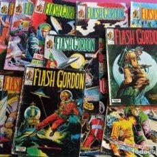 Cómics: LOTE DE 14 FLASH GORDON -V1 - V2 -VERTICE -VER NUMERACION ( EST). Lote 278319643
