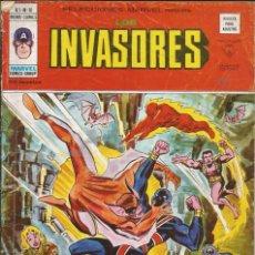 Cómics: LOS INVASORES V1 Nº 10 MARVEL - MUNDI COMICS VÉRTICE 1977. Lote 278321873