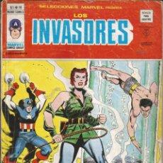 Cómics: LOS INVASORES V1 Nº 16 MARVEL - MUNDI COMICS VÉRTICE 1977 FALTA CONTRAPORTADA. Lote 278322018