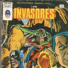 Cómics: LOS INVASORES V1 Nº 50 MARVEL - MUNDI COMICS VÉRTICE 1977. Lote 278322178