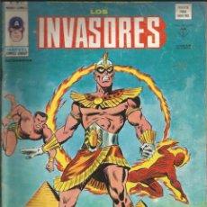 Cómics: LOS INVASORES V1 Nº 21 MARVEL - MUNDI COMICS VÉRTICE 1977. Lote 278322438