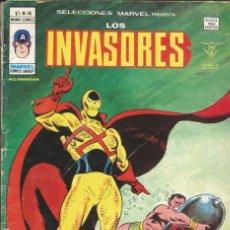 Cómics: LOS INVASORES V1 Nº 36 MARVEL - MUNDI COMICS VÉRTICE 1977. Lote 278322493