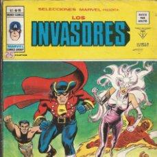 Cómics: LOS INVASORES V1 Nº 15 MARVEL - MUNDI COMICS VÉRTICE 1977. Lote 278322623