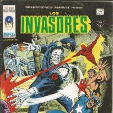 Cómics: LOS INVASORES V1 Nº 39 MARVEL - MUNDI COMICS VÉRTICE 1977. Lote 278322863