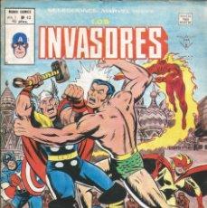 Cómics: LOS INVASORES V1 Nº 43 MARVEL - MUNDI COMICS VÉRTICE 1977. Lote 278322938